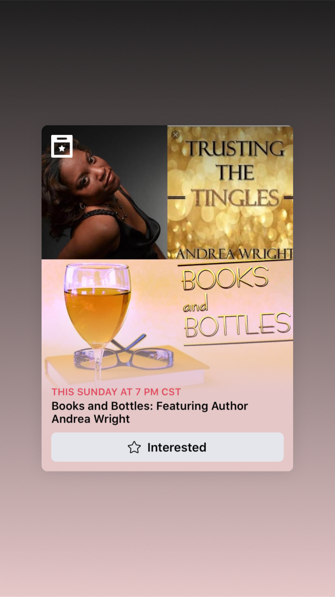 Books and Bottles Featuring Trusting the Tingles